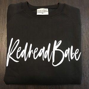 "Blunt & Blonde ""Redhead Babe"" Sweater"